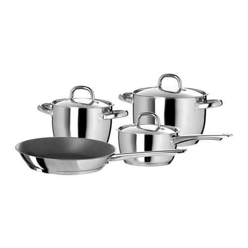 Buy IKEAS 7-piece cookware set
