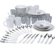Home Essentials 60 Piece Stoneware Dinner Starter Set