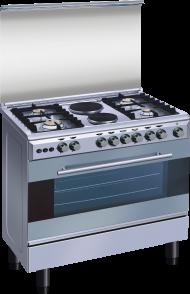 NEXUS STANDING GAS COOKER WOOD NX-8000S (4+2)