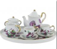 Haverhill Miniature 6 Piece Porcelain Tea Set