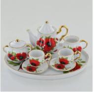Havelock Miniature 6 Piece Porcelain Tea Set