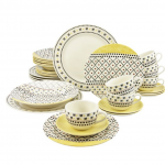 Patchwork 30 Piece Dinnerware Set