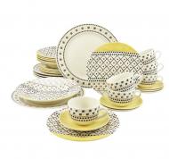Patchwork 30 Piece Dinnerware Set