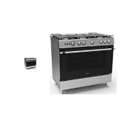 Mediafly 5 Gas Burners Gas Cooker( 90 X 60 )
