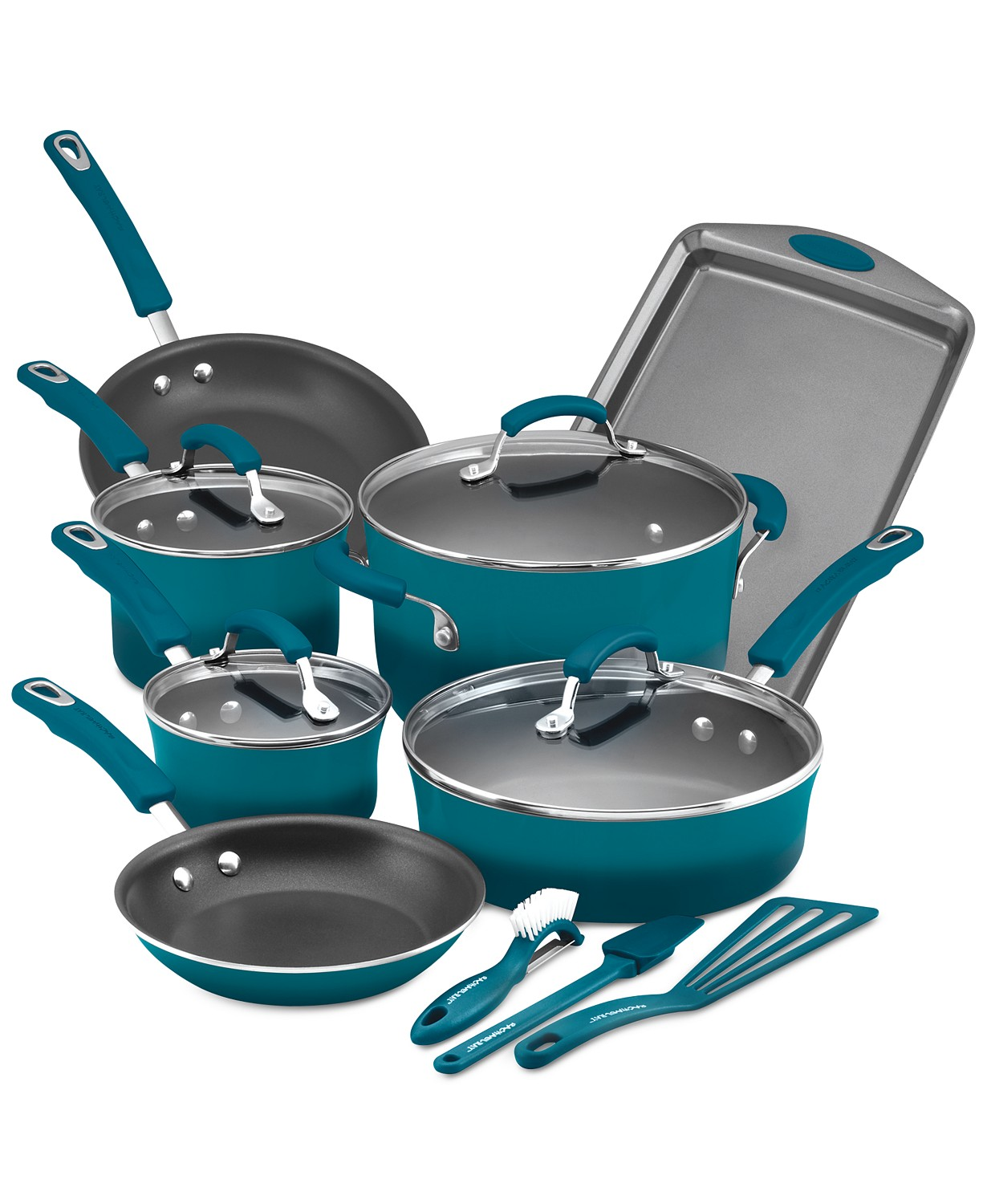 Rachal Ray 14-Pc. Nonstick Cookware Set