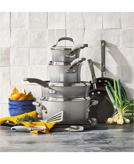 Rachal Ray 14-Pc. Nonstick Cookware Set