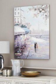Paris Scene Canvas