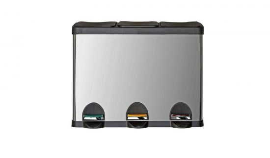 45 Litre Triple Compartment Recycling Bin