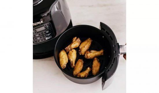 Ninja AF100UK 3.8 Litre Air Fryer and Dehydrator – Black