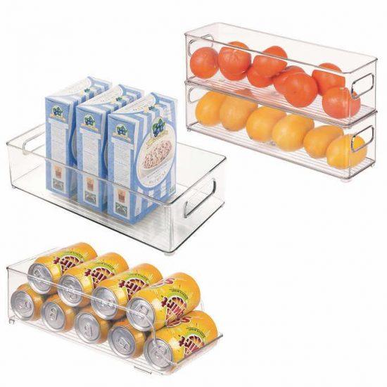 iDesign Kitchen Bins, 4-piece Set