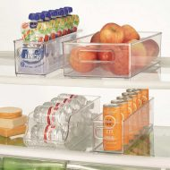 iDesign Kitchen Bins, 4-piece Set