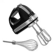KitchenAid 5KHM7210BOB Hand Mixer - Black