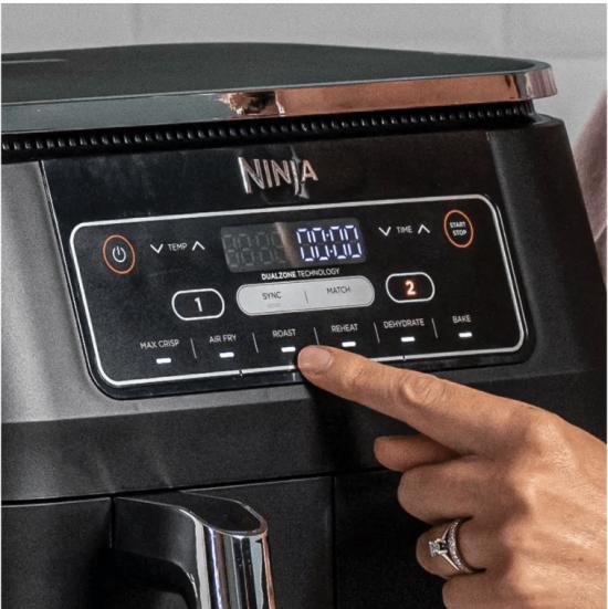 Ninja 7.6L Foodi Dual Zone Air Fryer and Dehydrator AF300UK
