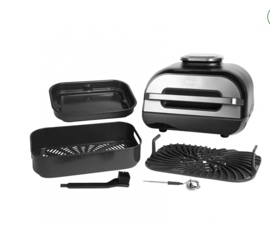 Ninja Foodi MAX Health Grill Air Fryer & Dehydrator AG551UK