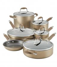 Anolon Advanced Home Hard-Anodized Nonstick 11-Piece Cookware Set