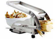 Stainless Steel French Fry Cutter, Commercial Grade Vegetable and Potato Slicer